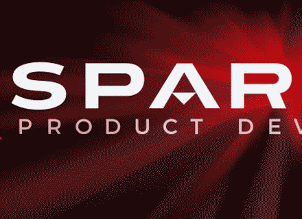 Close Up of the Sparrow Product Development Logo