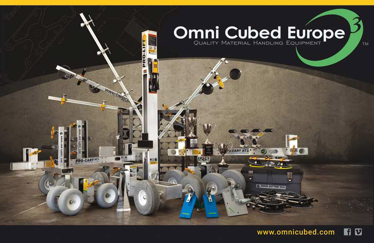 Omni Cubed Europe Catalog cover, product array