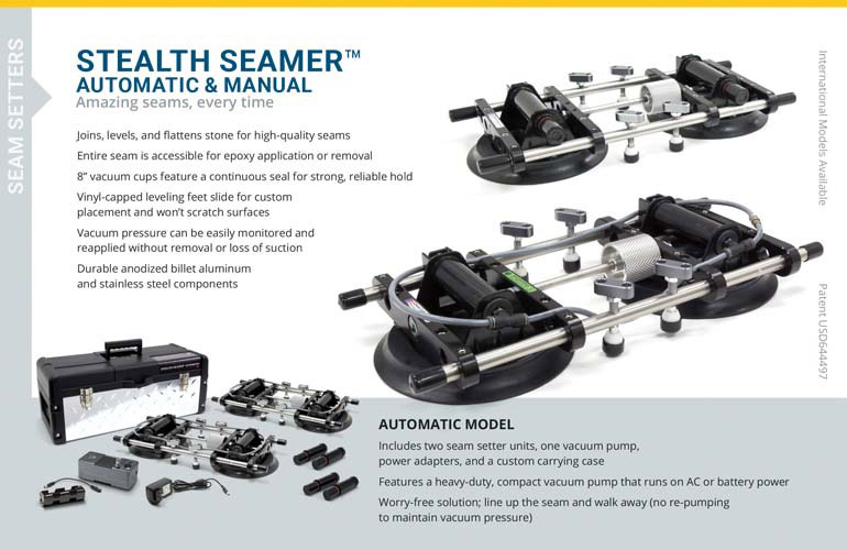 Catalog page, Stealth Seamers